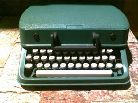 Maquina de escrever portátil