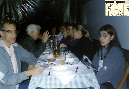 """Miguel Carqueija é o primeiro a esquerda, nessa foto de 2006 onde acontece uma reunião do CLFC. Nasceu e mora no Rio de Janeiro onde escreve """"desde tempos imemoriais"""", mas participa do fandom..."""