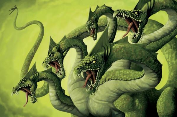 Manual dos Monstros Gregos Hydra